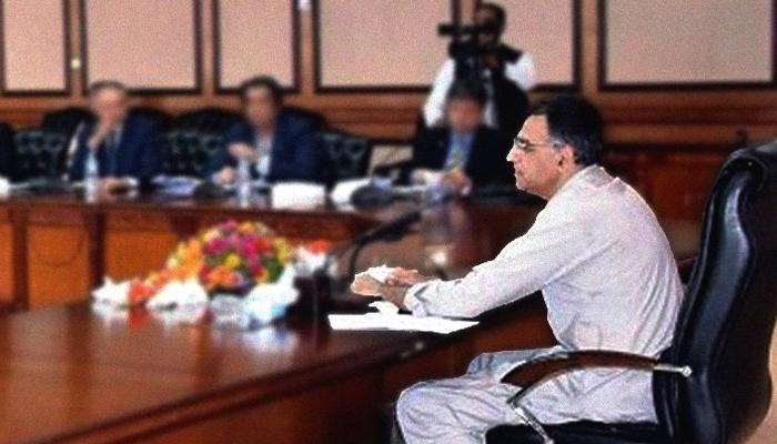 وزیر خزانہ کی زیر صدارت 9ویں مالیاتی کمیشن کا اجلاس