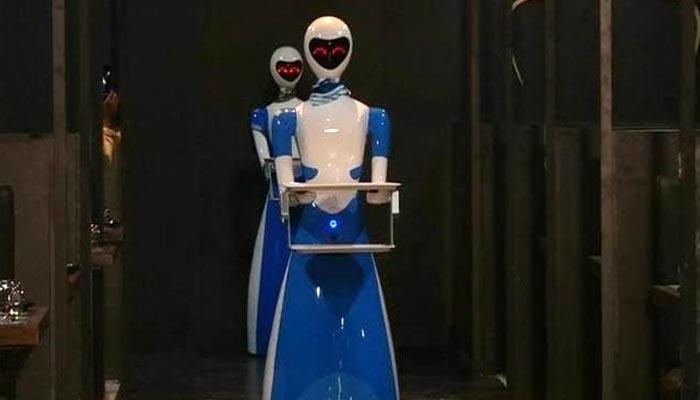 چنئی میں پہلا ''روبوٹ ریسٹورنٹ''