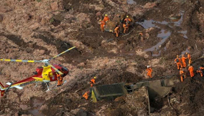برازیل ڈیم حادثہ، ہلاکتوں کی تعداد 150ہوگئی