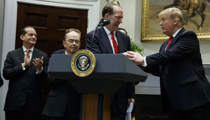 ٹرمپ نے ڈیوڈ مالپاس کو ورلڈ بینک کا سربراہ نام زد کردیا