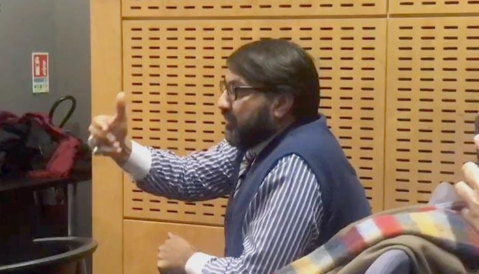 پیرس میں بھارتی سفارتخانے ڈرامہ فلاپ ہوگیا