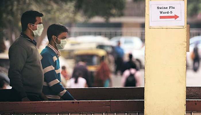 بھارت : سوائن فلو کے مرض میں اضافہ،6700کیسز رپورٹ