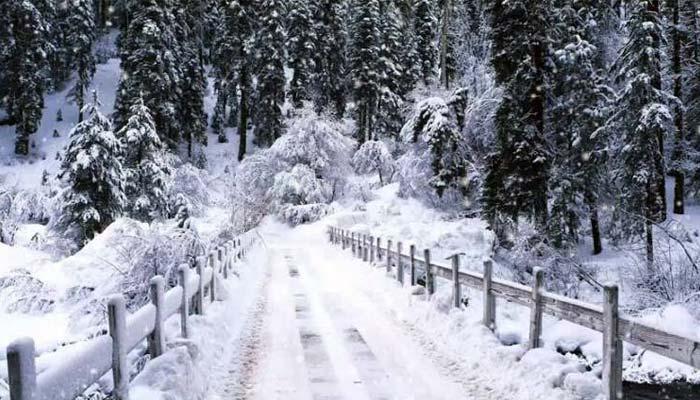 گلگت بلتستان کے بالائی اضلاع میں شدید برفباری