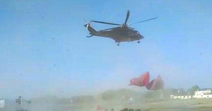 آصف زرداری کا ہیلی کاپٹر حادثے سےبچ گیا