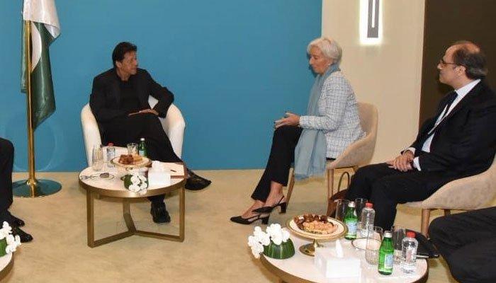 وزیر اعظم سے آئی ایم ایف کی مینجنگ ڈائریکٹر کی ملاقات