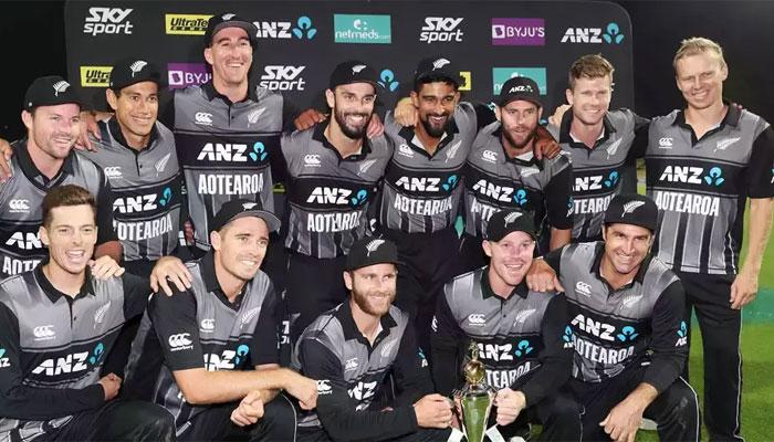 نیوزی لینڈ نے بھارت سے تیسرا ٹی 20 اور سیریز جیت لی