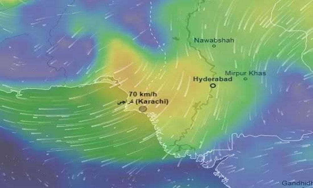 کراچی میں آج تیز ہوائیں چلیں گی