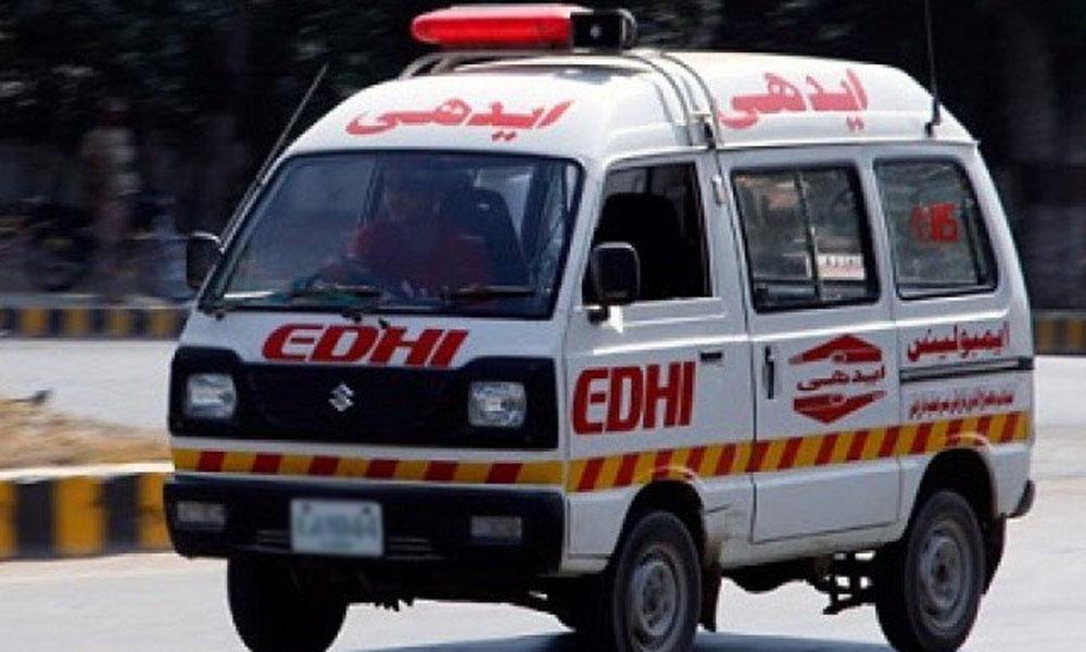 سانگھڑ :2گاڑیوں میں تصادم، 3 افراد جاں بحق
