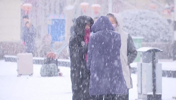 چین میں برفباری کا طوفان