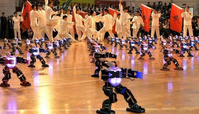 روبوٹس بھی کنگ فو کے ماہر نکلے