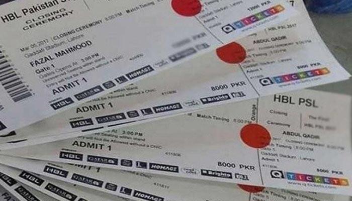 پی ایس ایل: پاکستان میں میچز کا کم ازکم ٹکٹ 500 روپے ہوگا