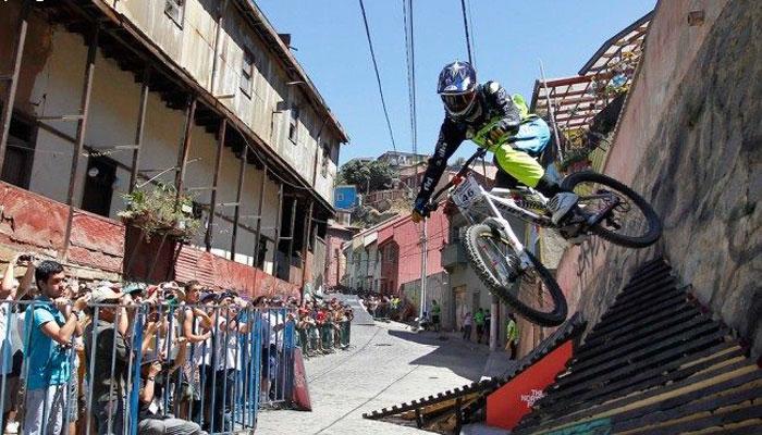 چلی:ناہموار راستوں پر سائیکل دوڑانے کابین الاقوامی مقابلہ