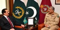 Ex Army Chief Raheel Sharif Calls On Coas Bajwa At Ghq