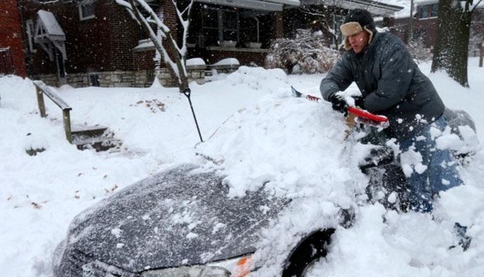 چین اورامریکا کے مختلف حصوں میں برف باری