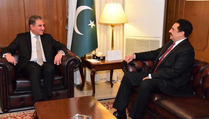 شاہ محمود قریشی کی راحیل شریف  سے ملاقات