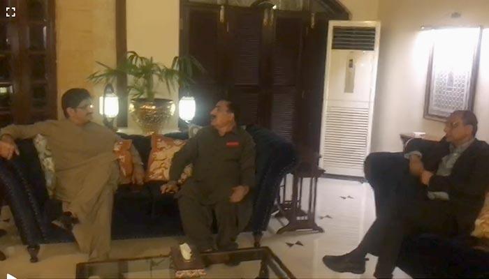 وزیراعلیٰ سندھ سے شاہی سید کی ملاقات