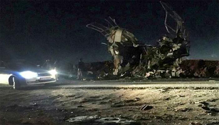 ایران خودکش حملہ، جاں بحق اہلکار کی تعداد 41 ہو گئی