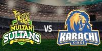 Karachi Kings Opt To Bat After Win The Toss Against Multan Sultans