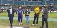 Quetta Gladiators Win Toss Opt To Fielding Against Peshawar Zalmi