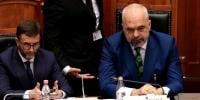 Albania Lawmaker Throws Ink At Prime Minister