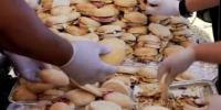 Largest Serving Of Breakfast Rolls Sandwiches Guinness Record