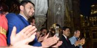 Cricket World Cup Trophy Arrives In Brussels