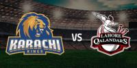 Psl 4 Match 5 Karachi Kings Vs Lahore Qalandars