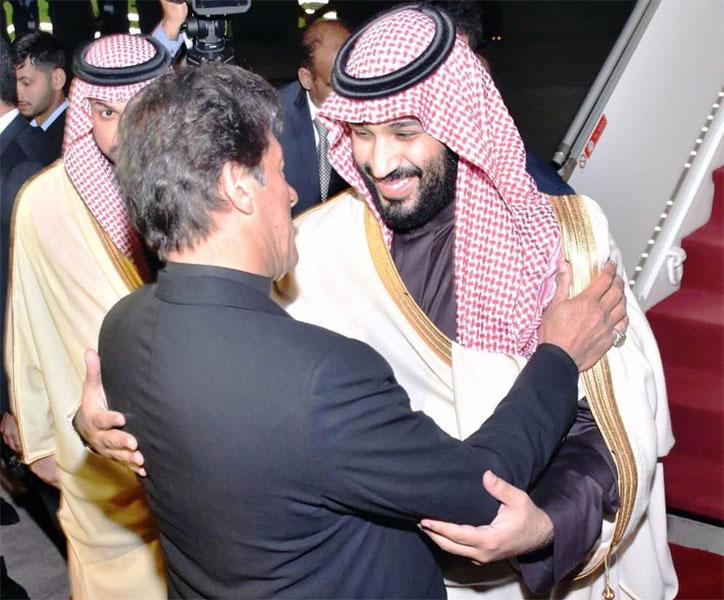 ''سعودی ولی عہد نے پاکستانیوںکے دل جیت لیے''