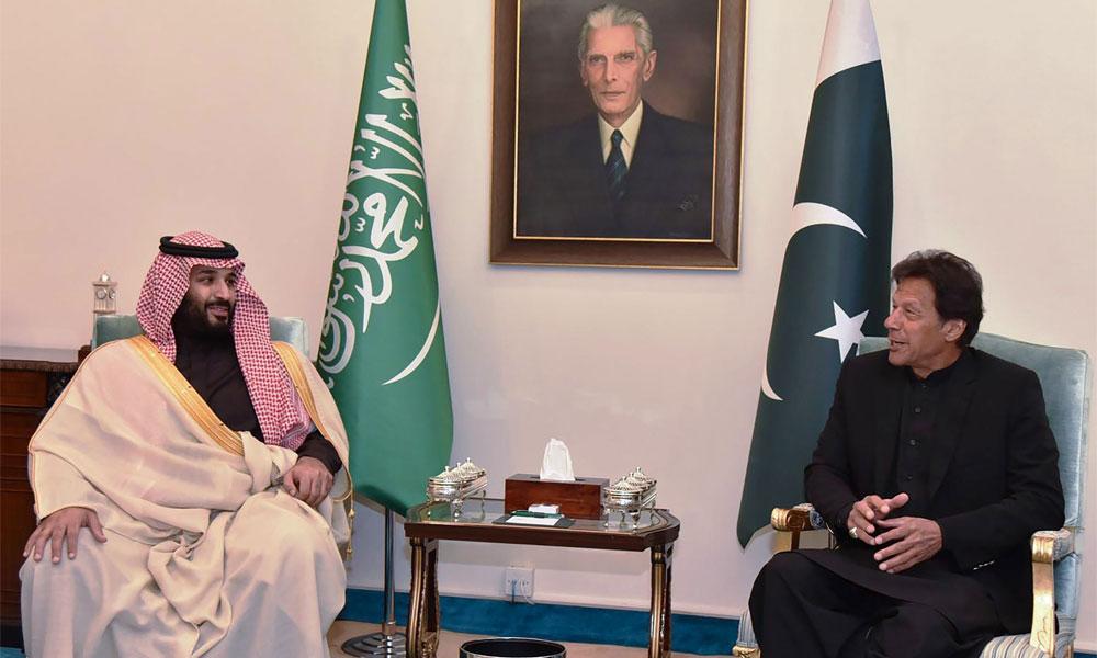 ''سعودی ولی عہد نے پاکستانیوں کے دل جیت لیے''