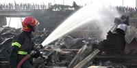 9 People Killed By Slum Fire In Bangladesh