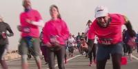 4000 Runners Participate In Pyramids Marathon In Egypt