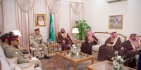 Army Chief Meets Saudi Crown Prince