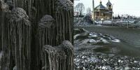 Black Snow Falls In Siberia