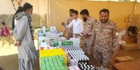 Rangers Free Medical Camp In Punjab Colony Karachi