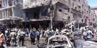 Syria Twin Blast 24 Dead