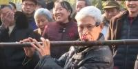 Chinese Man Plays 2 Meter Long Flute Wows Everyone
