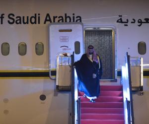 شہزادہ محمد بن سلمان بھارت پہنچ گئے