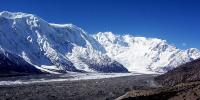 Shishpar Glacier Still Moving In Hunza