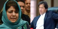 Pak India Tension Mehbooba Mufti Also Supported Imran Khan