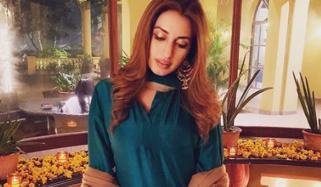 Actress Iman Ali Dholki Event