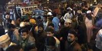 Protest In Korangi Against Police Raid