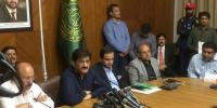 Cm Sindh Press Conference At Karachi