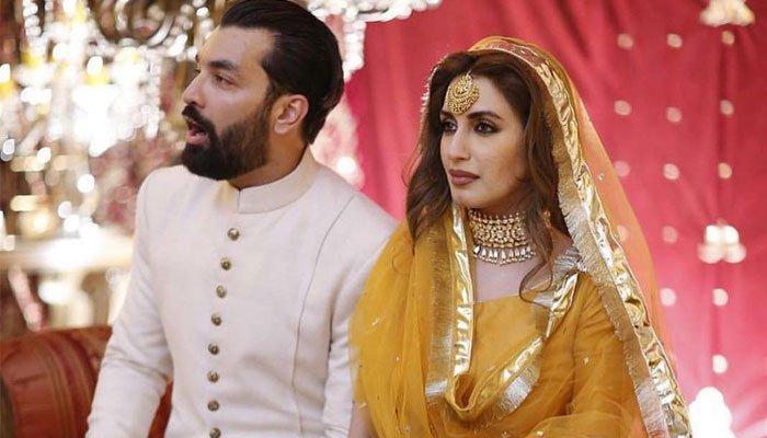 ایمان علی کی میجر عزیز بھٹی کے پوتے سے شادی