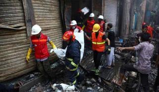 110 Dead In Massive Fire At Bangladesh