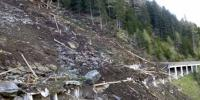 Snowfall And Landsliding In Astore