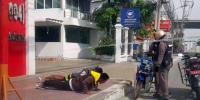 Thai Police Make Young Boys Do Press Ups Instead Of Paying Traffic Fine