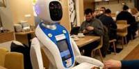 Robot Waiter At Restaurant Amazes Customers In Hungary