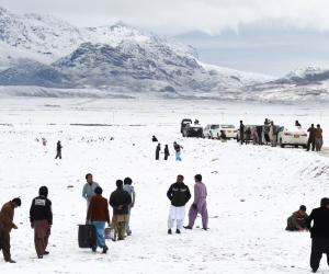 کوئٹہ میں شدید برف باری