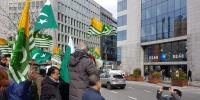 Kashmir Council Eu Hold Protest Against Indian Aggression In Brussels