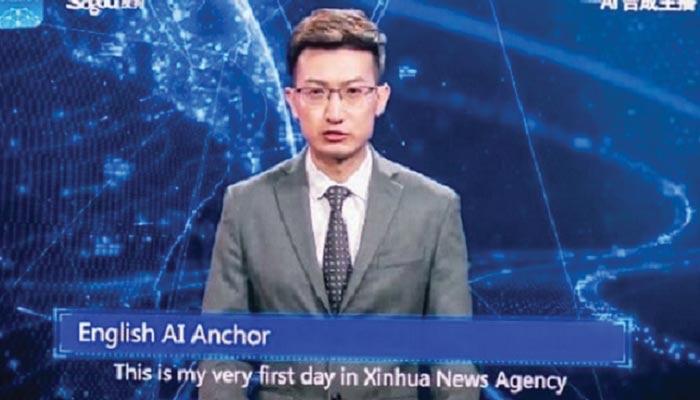 چین کا پہلا روبوٹ نیوز اینکر